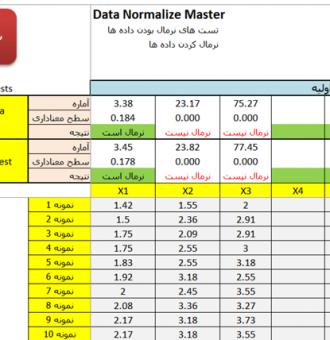 حل یک مثال کاربردی در حذف داده های پرت